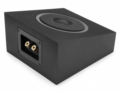 Акустика Dolby Atmos Elac Debut A4 black brushed vinyl