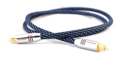 Оптическия кабель MT-Power TOSLINK PLATINUM 3.0m