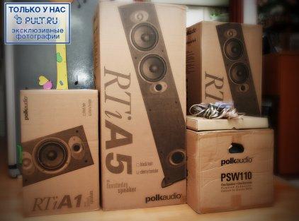 Polk Audio RTi A5 black (пара)