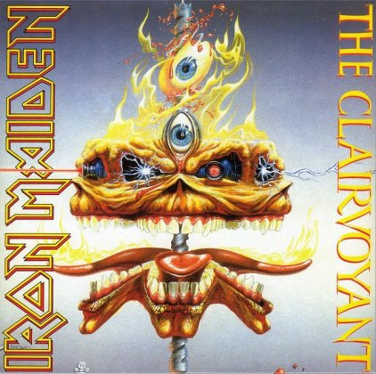 Iron Maiden THE CLAIRVOYANT (Limited)