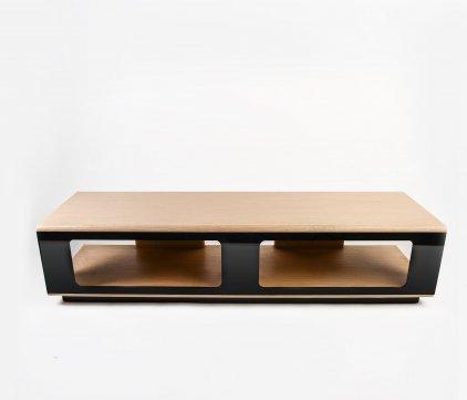 Подставка Adelle Vento Solare 2/1600 (беленый дуб/вставки черные)
