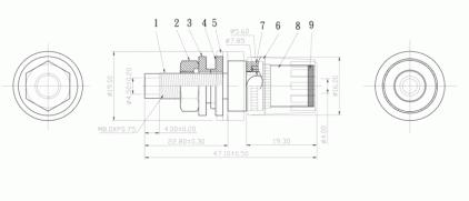 Разъем AudioToys PC-110G black