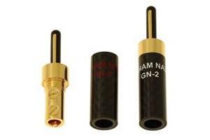 Black Rhodium Graham Nalty Banana plug kit GN-2