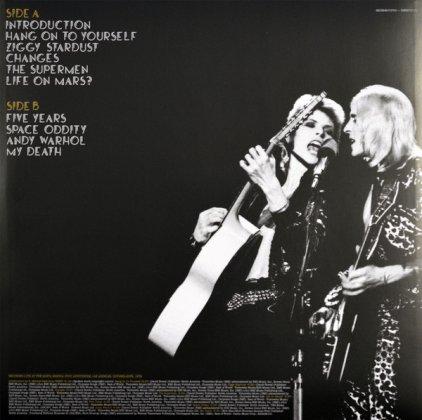 Виниловая пластинка David Bowie LIVE SANTA MONICA '72 (180 Gram)