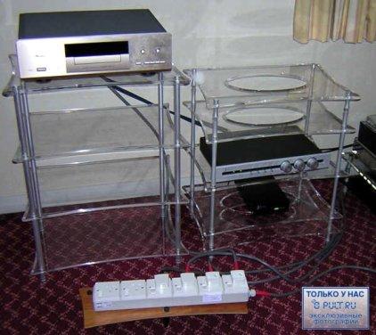 Модульная подставка Quadraspire Q4 glass (полка)