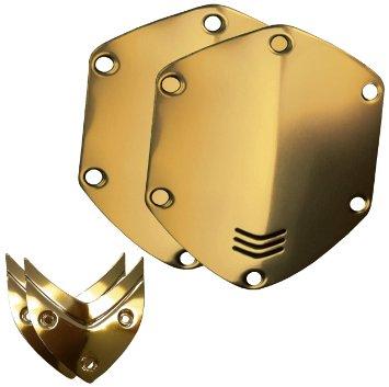 V-moda Сменные накладки для наушников V-Moda WIRELESS/M-100/LP2 Over-Ear Metal Shield Kit Gold