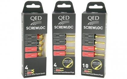 QED 1895 Screwloc Plastic Spade (10 шт.)
