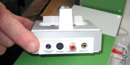 iPod Hi-Fi Tivoli Audio Connector frost white/white