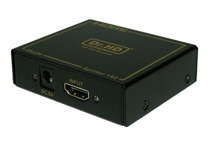 Dr.HD HDMI делитель 1x2 / Dr.HD SP 124 SL Plus
