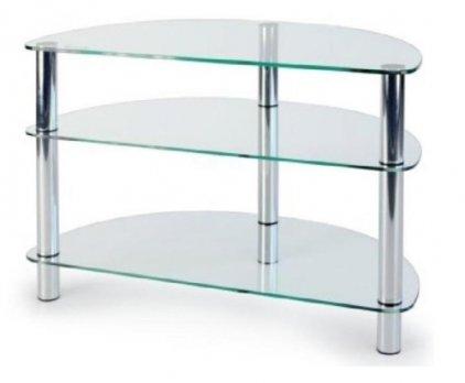 MD 404 slim хром/прозрачное стекло
