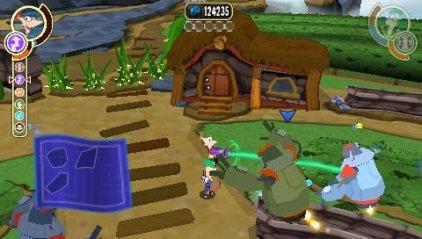 Игра для PSP Финес и Ферб. Покорение 2-ого измерения (Essentials) (русская версия)