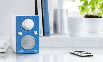 Радиоприемник Tivoli Audio PAL BT glossy blue/white