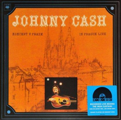 Johnny Cash KONCERT V PRAZE (IN PRAGUE LIVE) (180 Gram Red vin