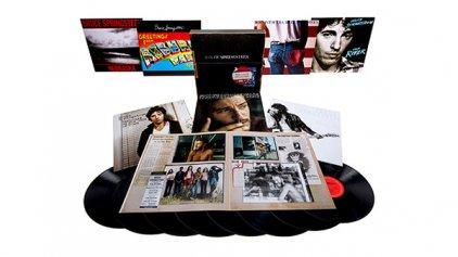Виниловая пластинка Bruce Springsteen THE ALBUM COLLECTION VOL. 1, 1973-1984 (Box set/W3750)