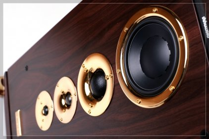 Dynaudio Consequence Ultimate Edition rosewood with gold