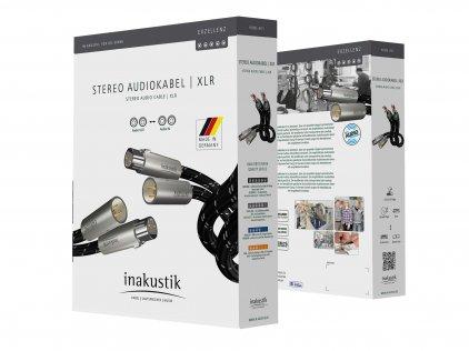 XLR кабель In-Akustik Exzellenz Stereo Cable XLR 1.5m #006050015