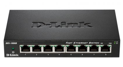 D-Link DES-1008D/L2A (Desktop Switch 8-port (8UTP, 10/100Mbps))