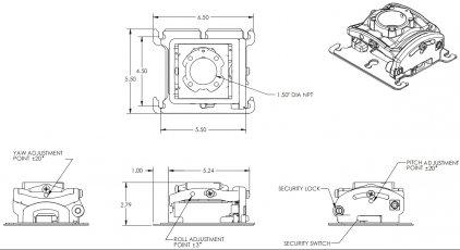 Крепление для проектора Chief RPMA281b