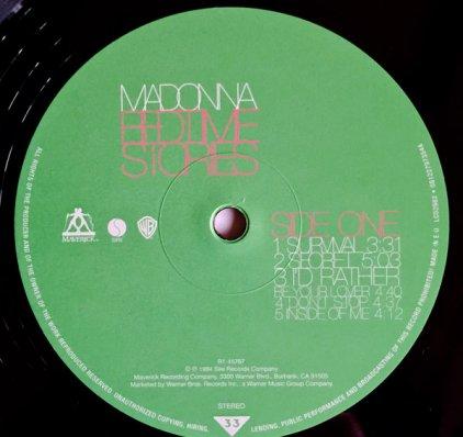 Madonna BEDTIME STORIES (180 Gram)