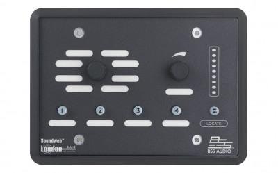 Панель BSS BSS BLU8-BLK программируемая настенная панель управления серии BLU. Цвет черный