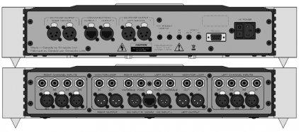 Предусилитель Sim Audio MOON 850P RS silver (красный дисплей)