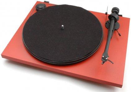 Проигрыватель винила Pro-Ject Essential II Phono USB (DC) (OM 5e) matt red