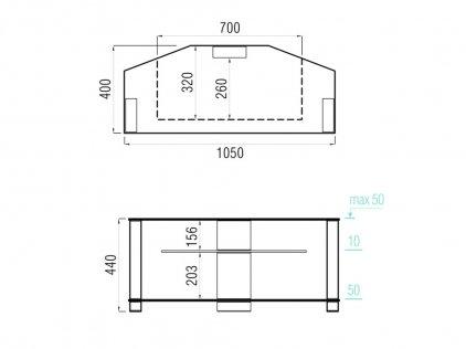 MD 517.1030 черный/дымчатое стекло