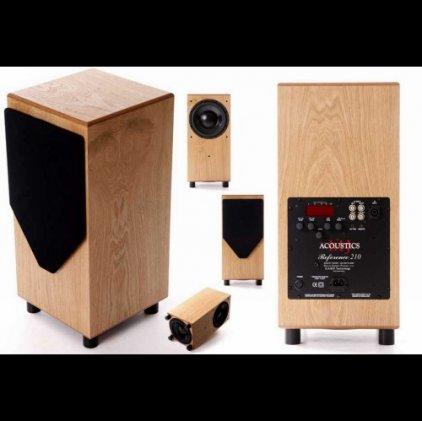 Сабвуфер MJ Acoustics Ref 210 black ash