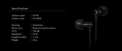 Final Audio Design F3100