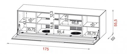 Подставка Munari BG 475 NE (Черный)