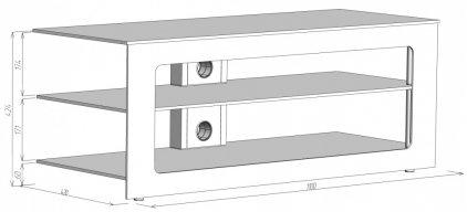 Подставка Akma PL 110 EKR (CB.9A.16.EKR-14/4)