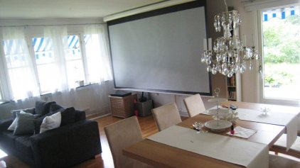 "Экран Euroscreen One Electric HDTV (86""/16:9) 190x107см GreyLight case mattAlu (моторизированный)"