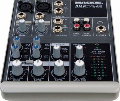 Mackie 402-VLZ3 4-канальный компактный микшер