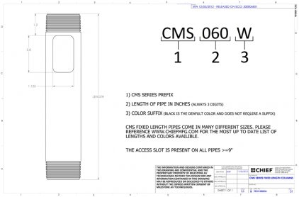 Chief CMS060s Siver