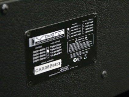Комбо усилитель VHT AV-HW1-12