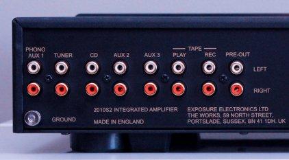 Стереоусилитель Exposure 2010S2 integrated black