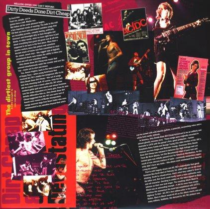 Виниловая пластинка AC/DC DIRTY DEEDS DONE DIRT CHEAP (Remastered/180 Gram)