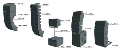 FBT FBT MT-S206 - стойка на сабвуфер для элементов линейного массива  MITUS 206LA