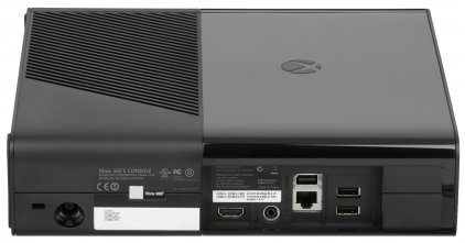 Microsoft Xbox 360 E N7V-00088, черный, в комплекте 3 игры: Kinect Sports, Forza Horizon, Kinect Adventures