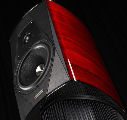 Полочная акустика Sonus Faber Guarneri evolution red