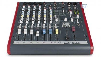 Микшер Allen&Heath ZED60-10FX