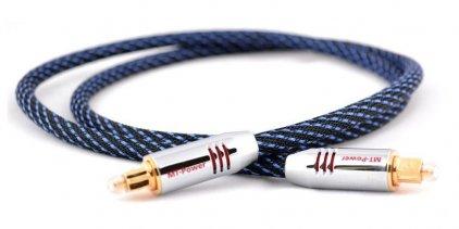 Кабель межблочный аудио MT-Power TOSLINK PLATINUM 0.8m