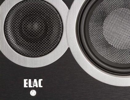 ELAC Debut C5 black brushed vinyl