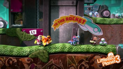 Sony Игра для PS3 LittleBigPlanet 3, Рус. версия