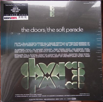 The Doors THE SOFT PARADE (STEREO) (180 Gram/Remastered at Bernie Grundman mastering)