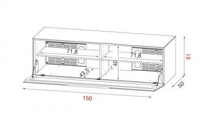 Подставка Munari BG 412 BI (Белый)
