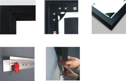 Classic Solution Premier Draco (4:3) 244х183 (F 244x183/3 PW-PD/S) Matte White