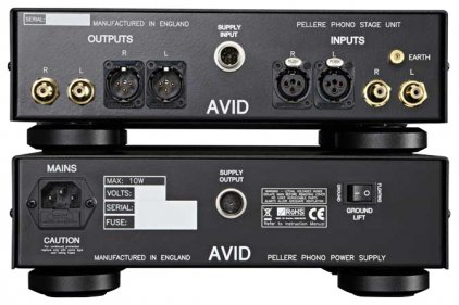 Фонокорректор Avid HiFi Pellere phono stage black