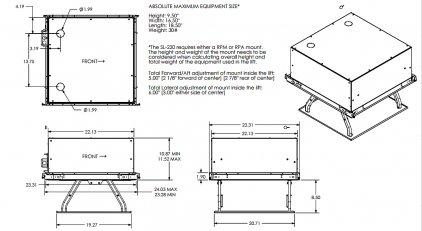 Крепёж для проектора Chief SL220