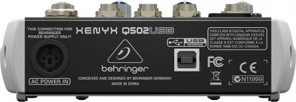 Behringer Q502USB